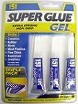 Super Glue Gel Triple Pack, Extra Str...