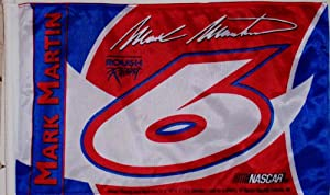 Mark Martin Car Flag by BSI