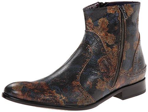 Robert Graham Men's Vandam Chelsea Boot, Floral, 8.5 M US