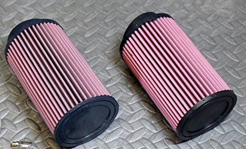 2 x NEW Yamaha Banshee K&N style air filters Keihin PWK PJ 33 34 35 35mm carbs (Keihin Carburetor 36 Mm compare prices)