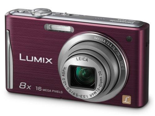 Panasonic Lumix FS35 Digital Camera - Violet  (16.1MP, 8x Optical Zoom) 2.7 inch LCD