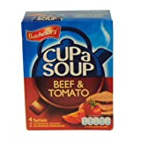 Batchelors Cup a Soup Beef & Tomato (4 per pack - 88g)