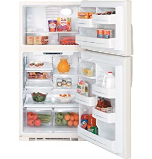 GE GTS22KBPCC 21.7 cu. Ft. Top-Freezer Refrigerator - Bisque