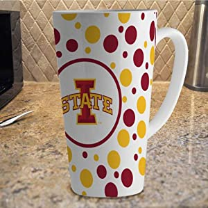 Buy NCAA Iowa State Cyclones 16-Ounce White Latte Mug by The Memory Company