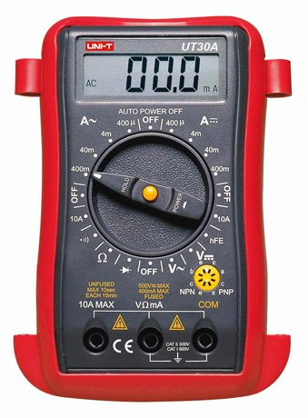 Uni-T Ut30A Palm-Size Portable Handheld Digital Multimeter, Data Hold, Sleep Mode, Max Display 3999
