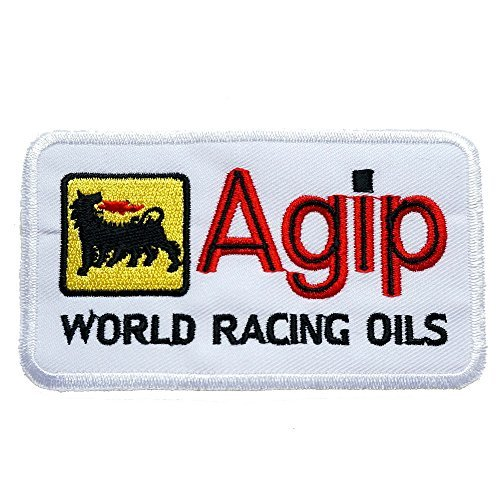 agip-embroidered-iron-on-patch-sew-on-car-logo-clothes-clothing-motorcycle-by-graphic-dust-patch