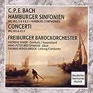 C.P.E. Bach: Hamburger Sinfonien/Concerti