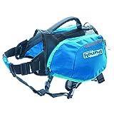 Outward Hound Kyjen  22003 DayPak Dog Backpack Adjustable Saddlebag Style Dog Accessory, Medium, Blue