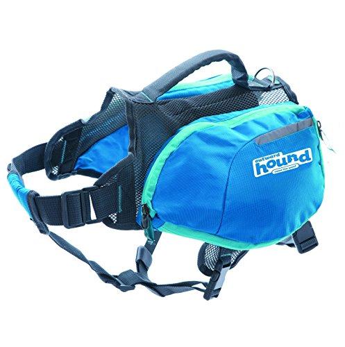 Artikelbild: Kyjen 22005 Outward Hound DayPak Hunde-Rucksack Tasche im Satteltaschenstil, verstellbar, Größe L, blau
