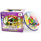 208 Steps 3D Magic Intellect Maze Ball Educational Learning Puzzle Game