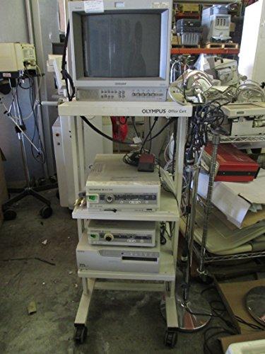 Olympus Mobile Workstation/Model: Pvm-14L2Md, 2003743 Endoscopy Video Cart