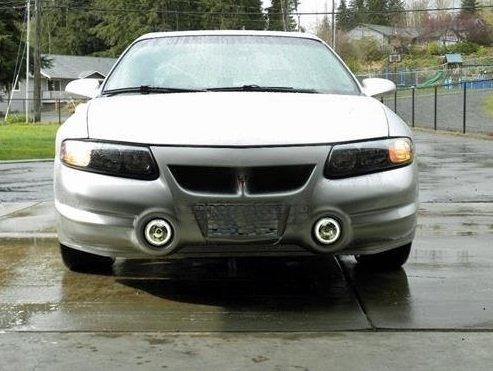 Pontiac Bonneville SLE SSEi 2000-2005 Halo Fog Lamps Driving Lights Foglamps Foglights Kit Angel Eye (Pontiac Bonneville Ssei compare prices)