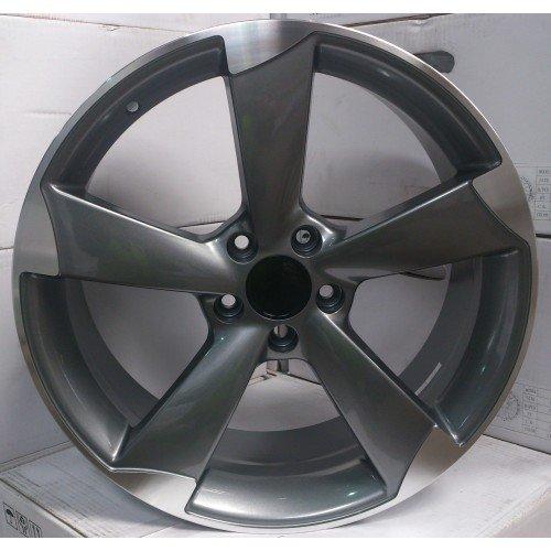 2-x-roues-en-alliage-Audi-ttrs-style-Gris-19-x-85-greggson-gg-60-cc