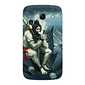 Cute Shiva Multicolor Back Case Cover for Galaxy Core