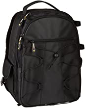 AmazonBasics Backpack for SLR Cameras and accessories - Black  [Amazon Frustration-Free Packaging]