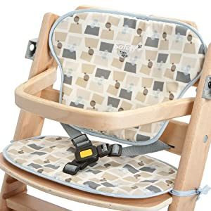 safety 1st 20125460 sitzpolster passend f r hochstuhl timba fifties baby. Black Bedroom Furniture Sets. Home Design Ideas
