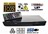 2014 SONY BDP-S1200 Multizone All Region Code Free DVD Blu ray Player - 1 USB, 1 HDMI, 1 COAX, 1 ETHERNET + 6 Feet HDMI Cable Included. Small Size (W x D x H) 199 x 193 x 42 mm. 100~240V 50/60Hz Int'l Version with EU/UK Power Plug (2m HDMi Cable Included)