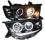 Generic 2009 to 2013 Year for Mitsubishi Pajero Sport LED Angel Eyes Head Lamp SN