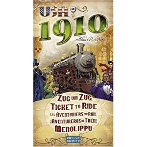 Ticket to Ride USA 1910!