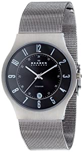Skagen Gents Titanium Watch - 233XLTTM
