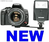 Neewer Digital Slave Flash + Bracket Set for Digital SLR DSLR Cameras or any Digital Camara!