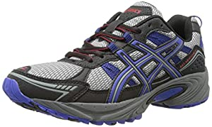 ASICS Men's Gel-Venture 4 Running Shoe,Aluminum/Onyx/Navy,9.5 M US