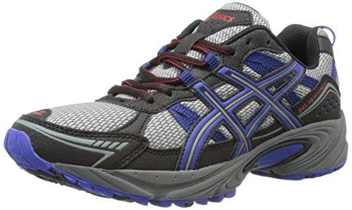 ASICS Men's Gel-Venture 4 Running Shoe,Aluminum/Onyx/Navy,14 M US