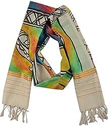 knool Women's Stole (Multi-Coloured)