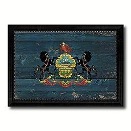 Pennsylvania State Vintage Flag Collection Western Interior Design Souvenir Gift Ideas Wall Art Home Decor Office Decoration - 23\