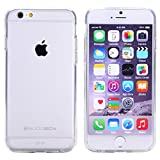 iPhone 6 Case, BUDDIBOX Clear View Case with Protective Front Bumper No Yellowing Coating + HD Screen Protector for Apple iPhone 6 4.7 inch Screen Phone, (CLEAR)