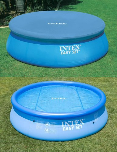 Intex 12ft Solar + Debris Easy Set Pool Covers by Outdoor Leisure Direct online kaufen