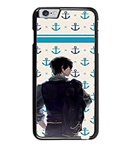 PrintDhaba Dashing Boy D-5852 Back Case Cover for APPLE IPHONE 6 PLUS (Multi-Coloured)