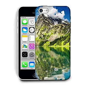 Snoogg Mountain And River Printed Protective Phone Back Case Cover For Apple Iphone 6 / 6S