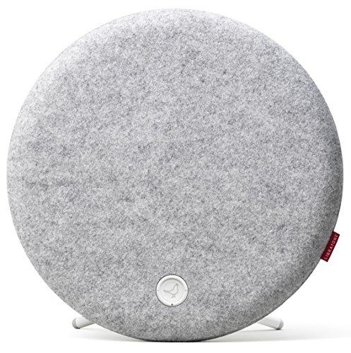 Libratone LOOP Wireless Lautsprecher mit Wandhalterung (AirPlay, DLNA, PlayDirect) Salty Grey
