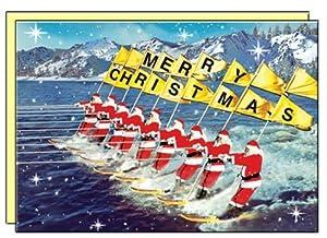 paquete de 8 tarjetas postales de navidad con el sobre por Max Hernn   Comentarios de clientes