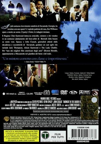 Mezzanotte nel giardino del bene e del male film - Il giardino di mezzanotte ...