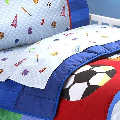 Olive Kids Game On Toddler Sheetset front-950866