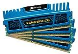 Corsair Vengeance Blue 4GB (1x4GB) DDR3 1600 MHz (PC3 12800) Desktop Memory (CMZ4GX3M1A1600C9B)