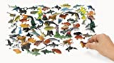 Under The Sea! Plastic Sea Life Creatures (90 pc)