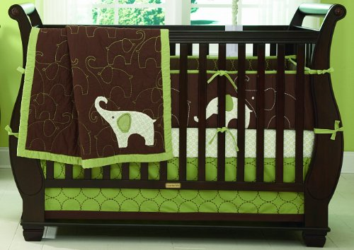 Carter's Elephant 4 Piece Crib Set