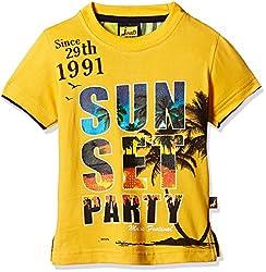 Seals Boys' Shirt (AM8135_1_YELLOW_8)