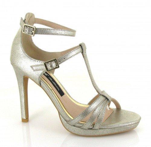 Mtng Donna 52293 sandali argento Size: 41