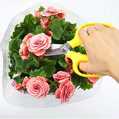 vale-la-pena-nueva-multicolor-precision-tijeras-de-poda-y-tijeras-de-jardineria-flores-rama-cortauna