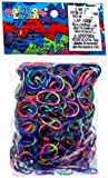 Official Rainbow Loom 600 Ct. Rubber Band Refill Pack *Jelly* ASSORTED TIE DYE [Includes 24 C-Clips!]