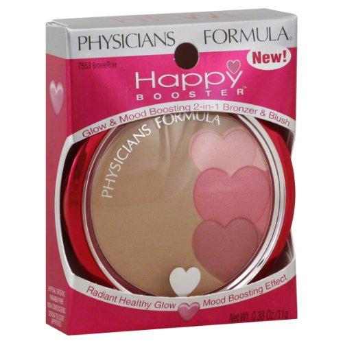 Physicians Formula Bronzer & Blush, 2-in-1, Glow & Mood Boosting, Bronze/Rose 7553 0.38 oz (11 g)
