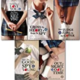 Ally Carter Gallagher girls collection 1-5 Books set. (. (I'd Tell you I love you, But then I'd have to kill you, Cross my heart and hope to spy, don't judge a girl by her cover Only the Good Spy Young and Out of sight, Out of Time))