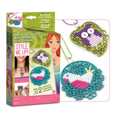 Style Me Uup Needlepoint Jewelry Kit