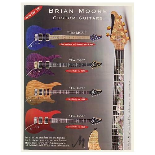 Amazon.com: 1996 Brian Moore Custom Guitars MC/1 C-90 C-70
