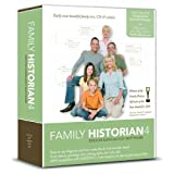 Family Historian 4 Deluxe Genealogy Software (PC CD)by Calico Pie