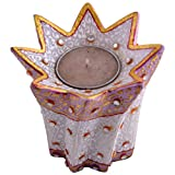 Craft And Craft Handicrafts's Marble Candle Holder - B00LX6EC2C
